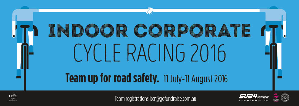 Indoor Corporate Cycling Racing