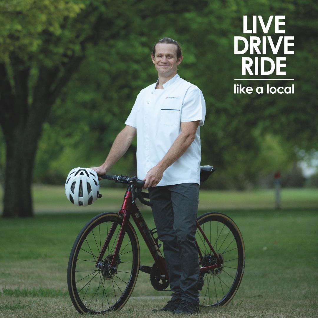 Phil the Pharmacist Mount Beauty cyclist